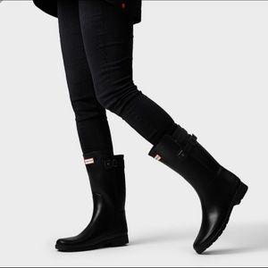 HUNTER Rain Boots w/ straps